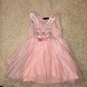 Never worn Pink Bunny Dress 2T. Adorable!